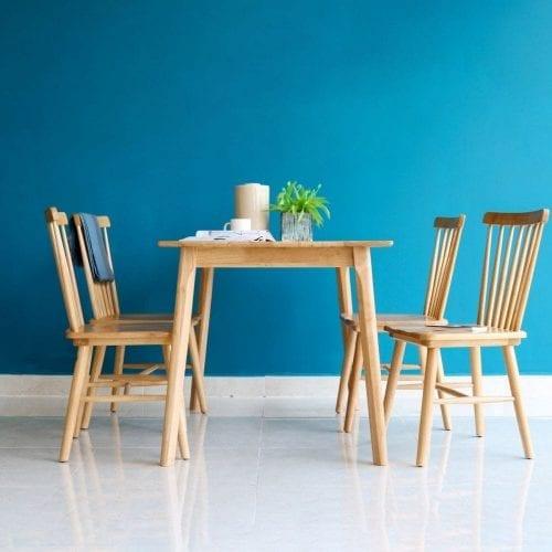 Bộ bàn ăn Rio Tự nhiên 4 ghế