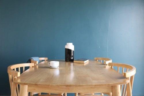 Bộ bàn ăn Ristar Tự nhiên 4 ghế