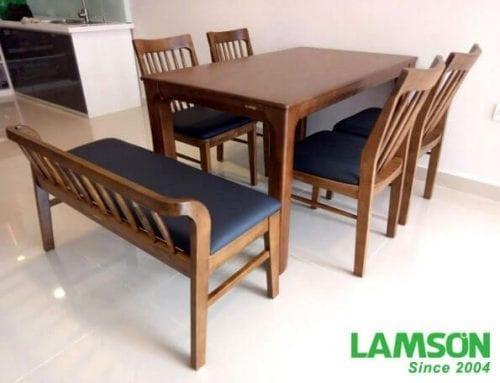 Bộ bàn ghế Hàn Quốc 4 Chỗ Ngồi - Lyna